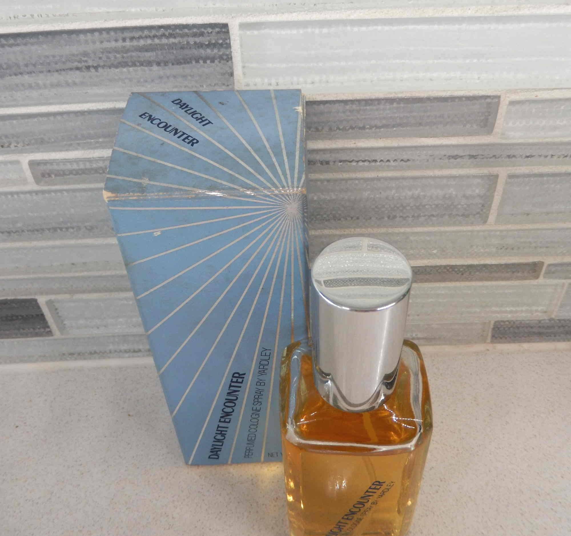 1972 Yardley Daylight Encounter Parfums Cologne Spray