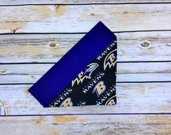 Baltimore Ravens Over the Collar Dog Bandana