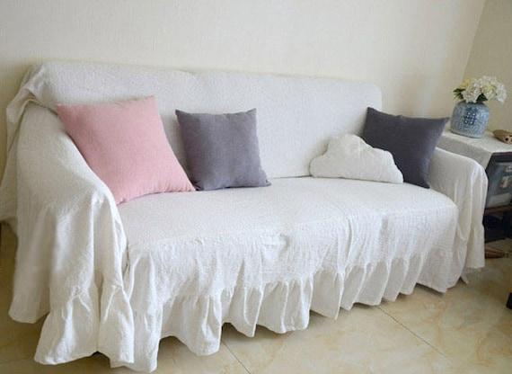 100% PURE RAMIE Washed Linen Custom Slipcovers | Etsy