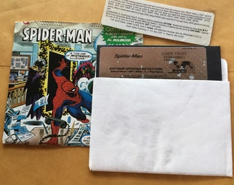 Commodore 64 Spider Man Floppy Disk video game