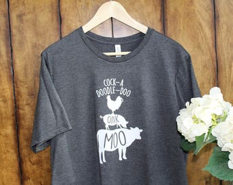 """Boutique """"Moo-Oink"""" Tee"""