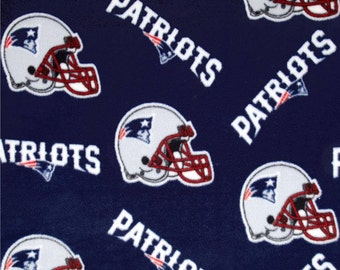 5f0bb15af5b New England Patriots - Blanket Made with New England Patriots Fleece - Made  to Order - Other designs available