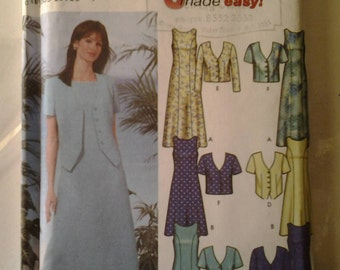 Simplicity 5957 Dress and Jacket Sewing Pattern