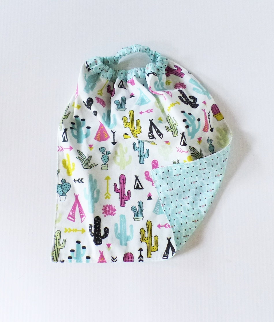 Lirge fabrics patterns fluorescent teepee, cactus / MINT. Back to ...