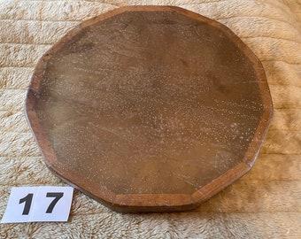 15 x 1.5 inch Red Deer Rawhide Drum + Beater (17)
