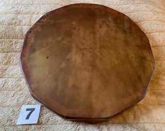 "14.75"" Horse Rawhide Drum, Shaman, Pagan, Native American Inspired Drum (7)"