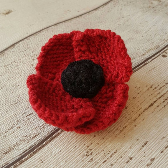 Red poppy brooch red flower pin remembrance day veterans day il570xn mightylinksfo