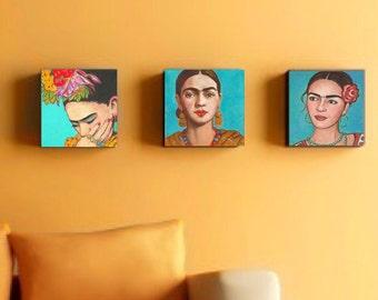Mexican Art, Print, 30% Off, Prints, Poster, Canvas Wrap, Mexican Folk Art, Wall Art, Painting