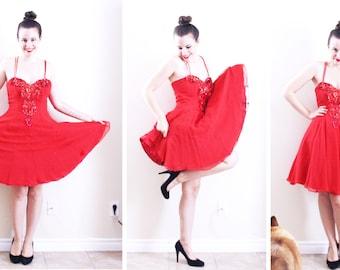 Red Dancer Dress . Red Salsa Dress Red Tango Dress Red Dress Red Ballerina Dress Red Formal Dress Red Swan Dress Red Prom Dress