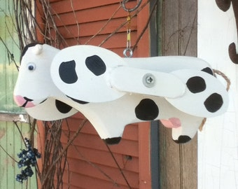 Cow Whirligig