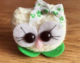 Owl Crochet amigurumi - Patricia the Cutie - comes in a box crochet