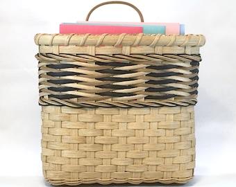 "BASKET WEAVING PATTERN ""Millie"" Mail Basket"