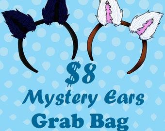 Grab Bag Random Wolf Fox Ears