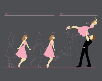 The Lift / Dirty Dancing inspired t-shirt