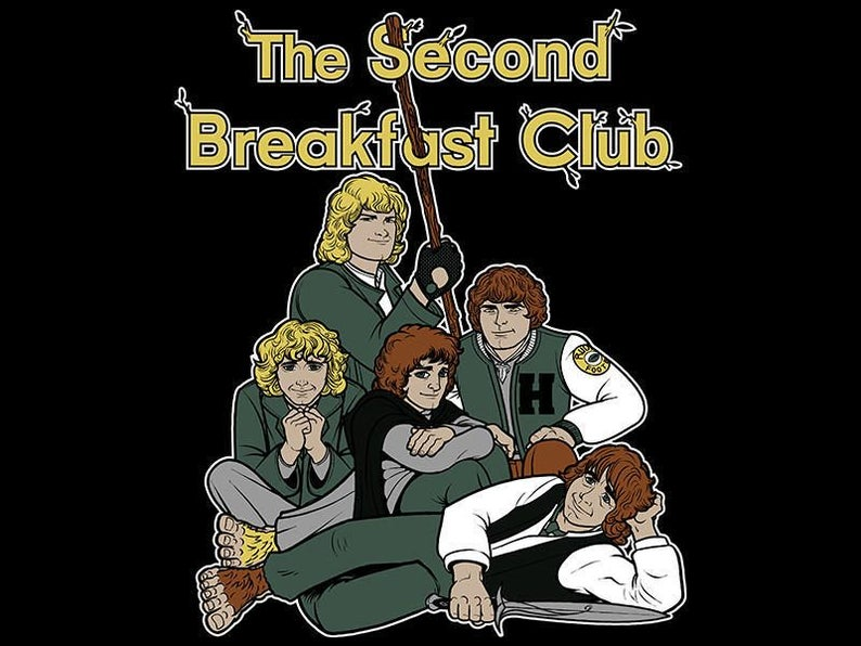 The Second Breakfast Club / Lord of the Rings  Hobbit image 0