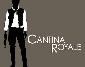 Cantina Royale / Star Wars - James Bond inspired t-shirt