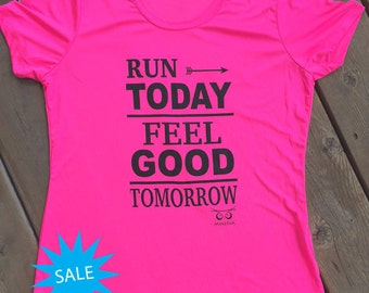 SALE Run Today Performance T-shirt