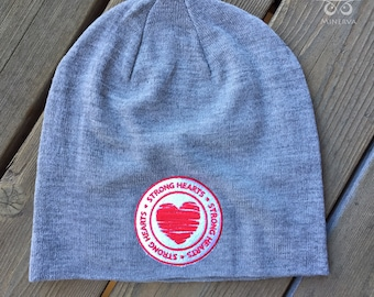 Strong Hearts Slouchy Beanie