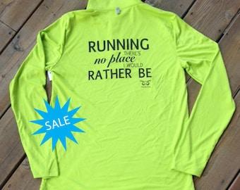 Rather Be Running 1/2 Zip