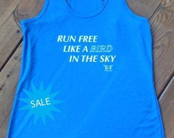 SALE Free Like A Bird Running Tank
