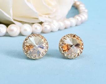 Bridal Earrings Studs Wedding Earrings For Brides Earrings Stud, Wedding Stud Earrings Wedding Earrings Studs Wedding Jewelry For Brides