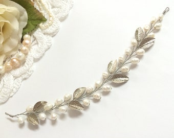 Bridal Headpiece, Pearl Bridal Hair Accessories, Headpiece Wedding, Bridal Hairpiece, Hairpiece, Bridal head piece, Wedding Hair Accessories