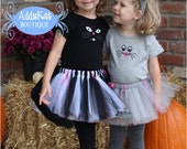 coordinating sibling halloween costumes cat and mouse tutu outfits twins