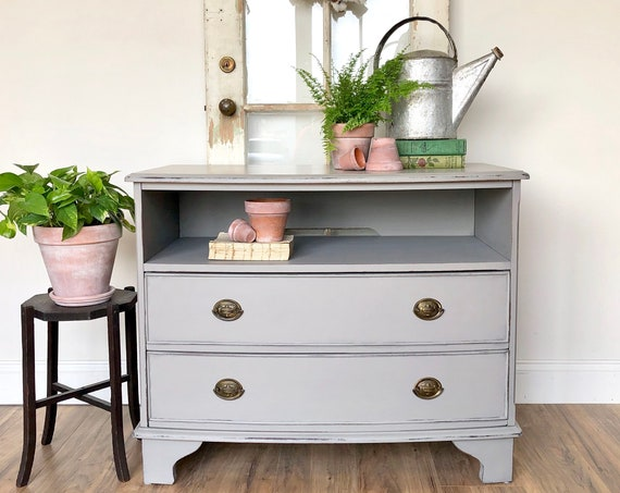 Small TV Stand - Distressed Furniture