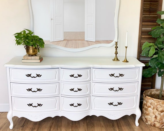 French Provincial Dresser - Shabby Chic Furniture