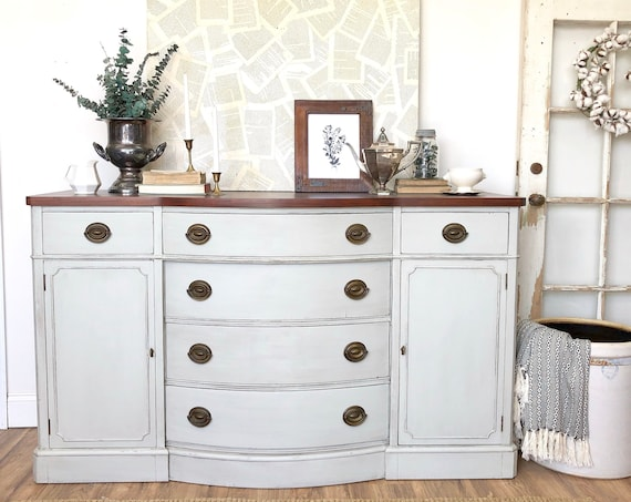 Distressed Sideboard Buffet - Drexel Furniture