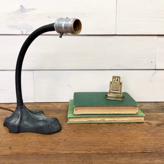 Art Deco Desk Lamp - Rustic Lighting