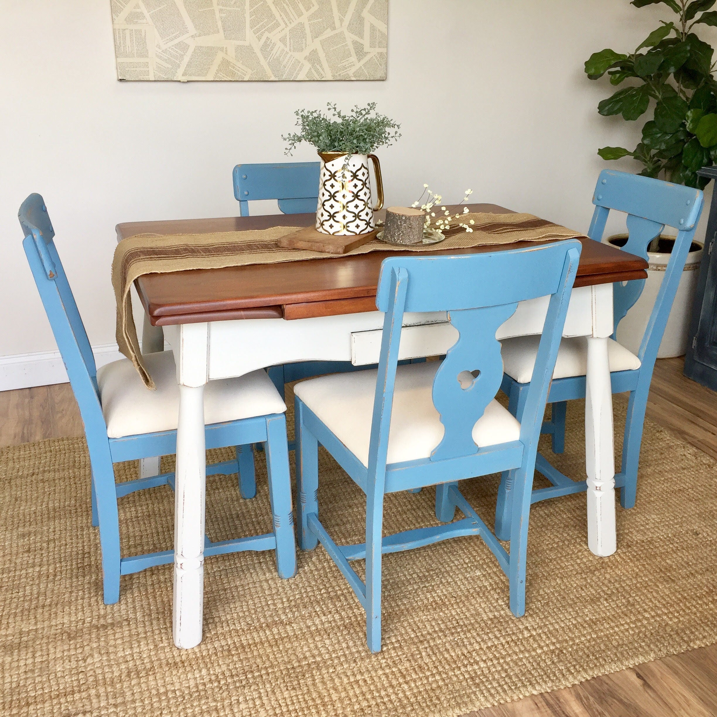 Small Dining Set - Wooden Dining Table - Small Wooden Table ...
