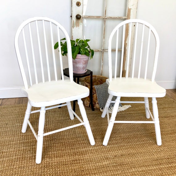 White Dining Chairs - Shabby Chic Furniture