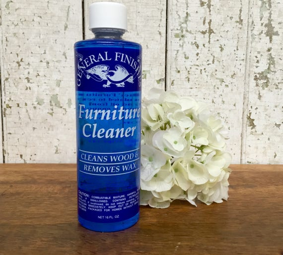 Furniture Wax Remover - General Finishes - Wood Furniture Cleaner - Strip Wax - Odorless Mineral Spirits Base - Best Wood Cleaner