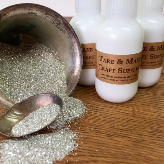 Glue for Glitter Craft - German Glass Glitter Tac Glue - Clear Adhesive for Bonding Glass Glitter - Take and Make Tac Glue, Archival Glue