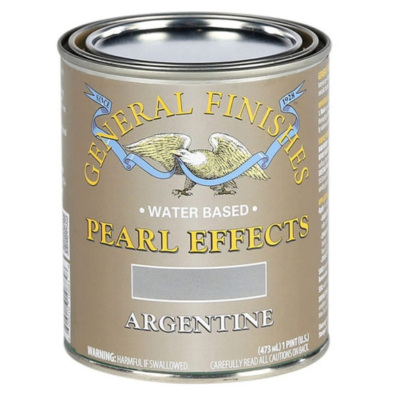 Pearlescent Paint General Finishes Metallic Paint for Furniture