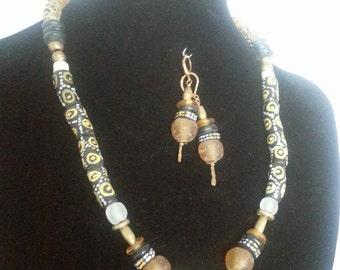 Ethnic Treasures- Necklace & Earring set