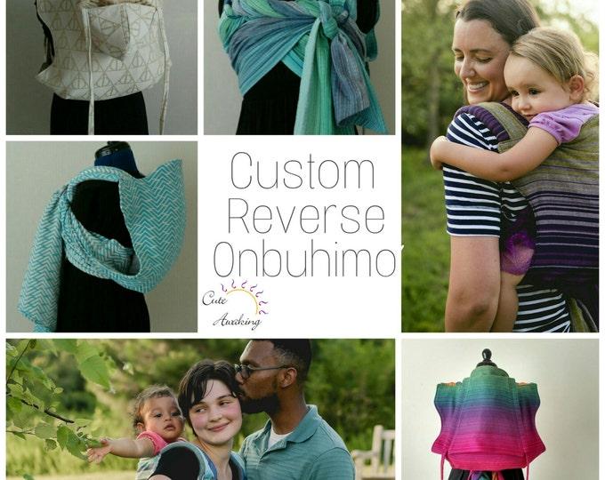 Featured listing image: Custom Reverse Onbuhimo slot deposit
