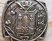 St. Teresa of Jesus - Crest - Coat of Arms - Bronze or Sterling Silver - Medal - Reproduction - Made in the USA
