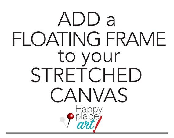 Optional UPGRADE LISTING for floating frame addition for Canvas Wall maps and PinMap#3
