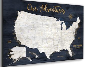 PUSHPIN-USA MAPS & Gifts