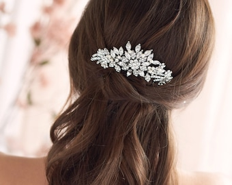 Vintage Bridal Hair Comb, Pearl Wedding Hair Comb, Rhinestone Hair Comb, Bridal Hair Accessory, Bride Hair Piece, Wedding Hair Piece ~2228