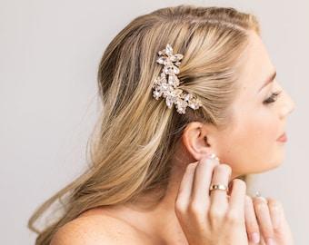 Rhinestone Hair Comb, Bridal Hair Comb, Vintage Wedding Hair Comb, Bridal Headpiece, Wedding Hair Accessory, Hair Comb for Wedding ~2222