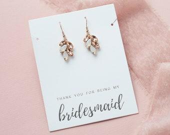 Bridesmaid Earrings Flower Girl Earrings Maid of Honor Earrings 12mm Hypoallergenic Matte Rose Earrings Stainless Steel Earrings