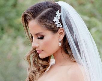 Crystal Bridal Hair Comb, Vintage Wedding Hair Comb, Bridal Comb, Bridal Headpiece, Hair Comb for Wedding, Wedding Hair Accessory ~2222