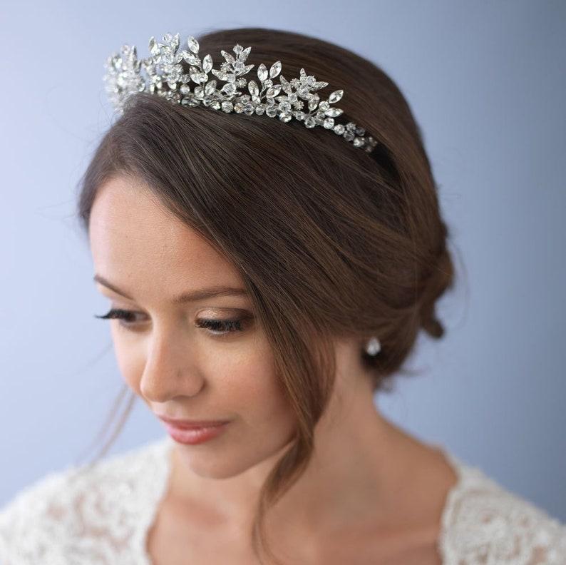 Swarovski Crystal TiaraBridal CrownBridal Crown For image 0