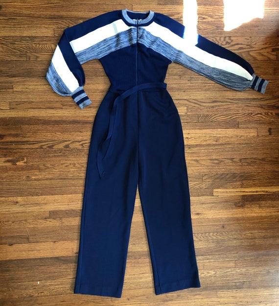 1970s JCPENNEY vintage long sleeve jumpsuit