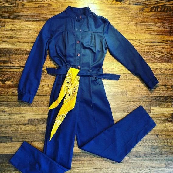 Union made utilitarian jumpsuit/coveralls