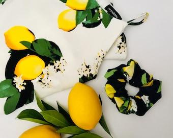 Scrunchies Lemon Blossom - The Marianna