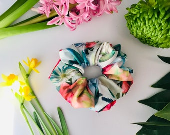 Scrunchies Dahlia Floral - The Susan
